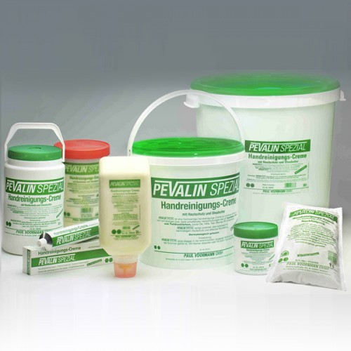 PEVALİN SPEZİAL İnatçı, boyalı ve yapışkan kirler için yüksek etkili el temizleme kremi