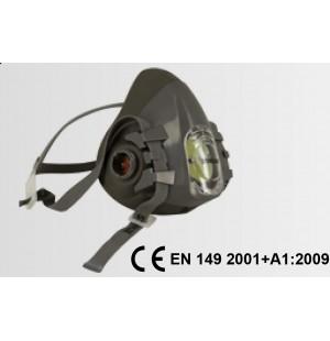 V-900 Silikon Yarım Yüz Gaz Maskesi