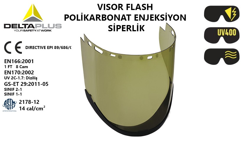 visor flash